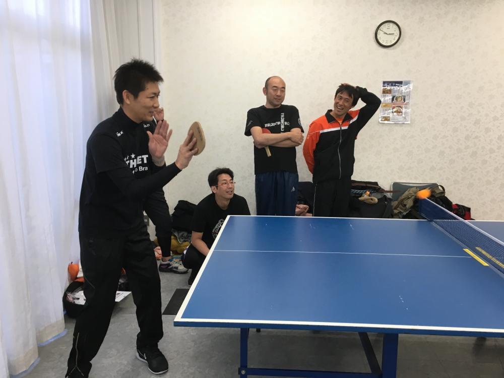 卓球体験7